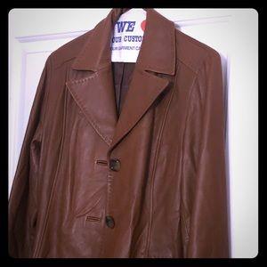 Leather Jacket. NWOT